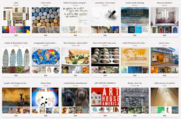 2013-01 Pinterest Boards