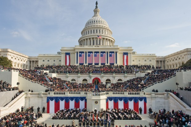 US Capital - Presidental Inaguration