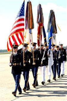 US Air Force Color Guard