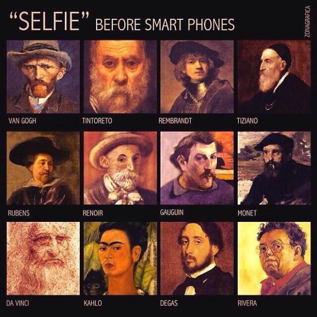 SELFIE before smart phones